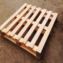 Rectangular Two Ways Wooden Pallet