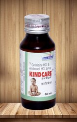 Cetirizine 5 mg & Ambroxol 30 mg per 5 ml Syrup