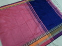 Plain Party Wear Cotton Silk Saree