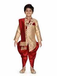 AJ Dezines Kids Sherwani Suit Set for Boys, Age: 1-10 Years