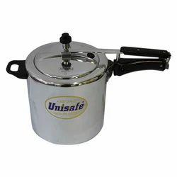 Metal Chrome 8 Litre Pressure Cooker
