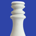 White GRC Baluster