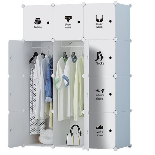 4ece0711e6e Nile PVC RT 131 Folding Wardrobe