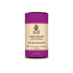 Natural Burgundy Hair Color