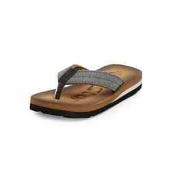 Boys Tan Casual Slippers