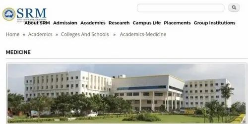 Prime Srm Medical College Chennai Admission Cutoff Fees Complete Home Design Collection Epsylindsey Bellcom