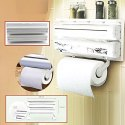 Multipurpose Use Kitchen Triple Paper Roll Dispenser