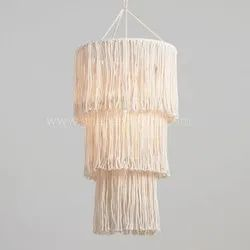 Large Macrame Chandelier Wedding Decor