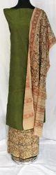 Regular Wear Kalamkari Dress Material