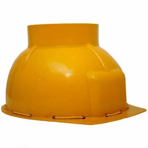 PE Female Ladies Safety Helmet, Packaging Type: Box