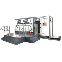 Semi Automatic Die-Cutting Machine, Packaging Type: Box