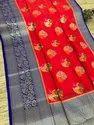 Banarasi Handloom Pure Chiffon Silk Sarees