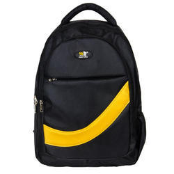1680 X 1680 Pnp Black, Yellow College Backpack Bag