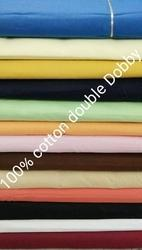Cotton Double Dobby Fabric