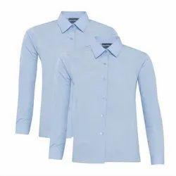 Parkash Cotton Collar Neck School Uniform Shirt
