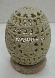 Tea Light Holder Egg Shape