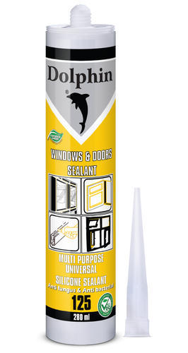 Wood And Glass Dolphin 125 Windows & Doors Silicone Sealant   ID