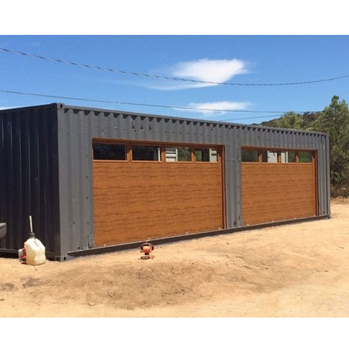 Custom Shipping Container Car Garage: Mild Steel Garage Container, Rs 60000 /unit, D.S