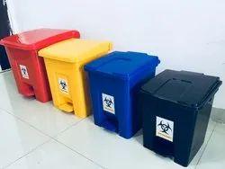 Bio Medical Plastic Dustbin