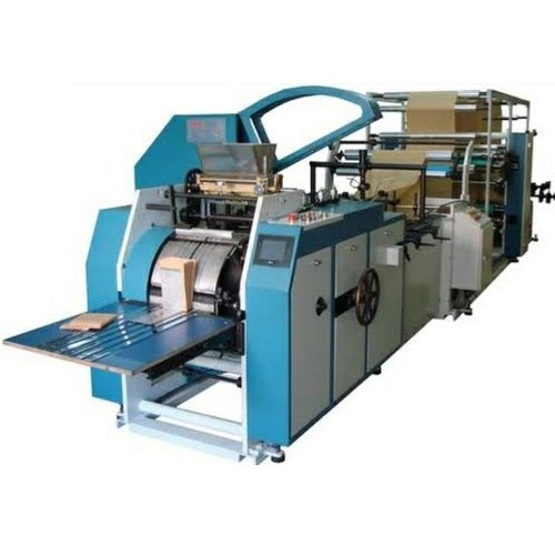 Automatic Color Coated Paper Bag Making Machine