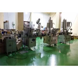 Automatic Hair Oil Filling Machine