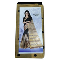 Zari Party Wear Mercerised Indian Saree