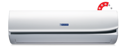 White Blue Star Split Ac 1 Ton 3 Star For Office Use And