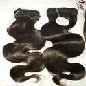Human Indian Hair Natural Color Wavy
