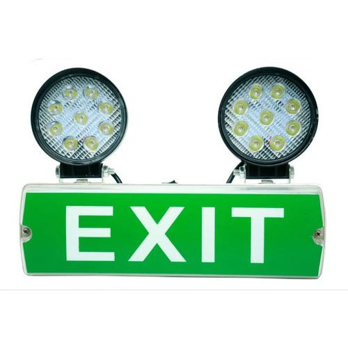 Fire Exit Emergency Lights
