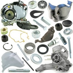 Vespa Engine Crank Case Assembly PX LML Star Stella 125 150 200 2T 4T Scooter Spare Parts
