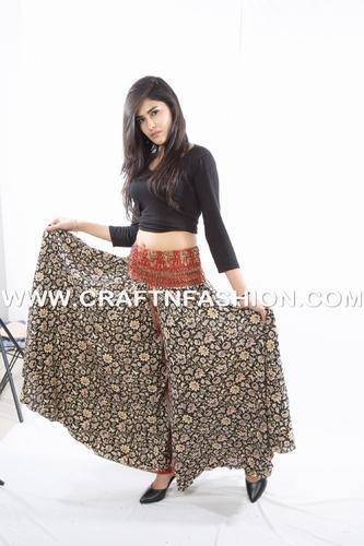 Megh Craft Regular Indian Party Wear Palazzo Belly Dance Style