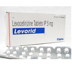 Levorid Tablet, 5 Mg, 10x5x10 Tablets