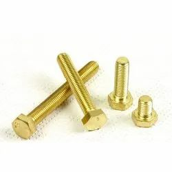 Brass Carriage Bolt, Size: M1.6-m26, Packaging Type: Box