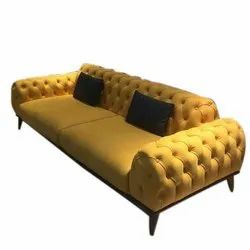 Modern Fancy Two Seater Sofa, Seating Capacity: 2 Seater, Size: 36*84 Inch