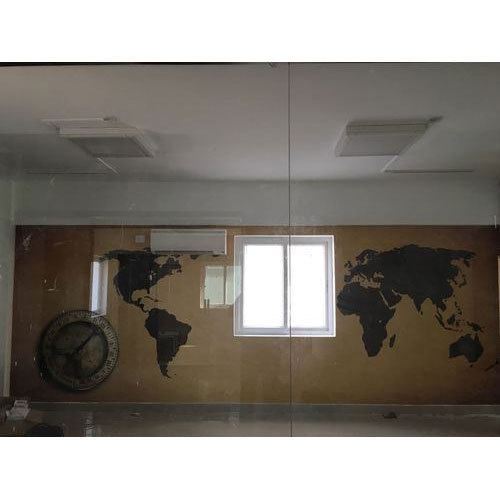 World Map Room Wallpaper