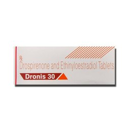 Drospirenone and Ethinylestradiol 30mg Tablet