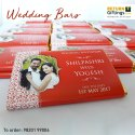 Wedding Function Personalize Chocolate Bar, 25gms