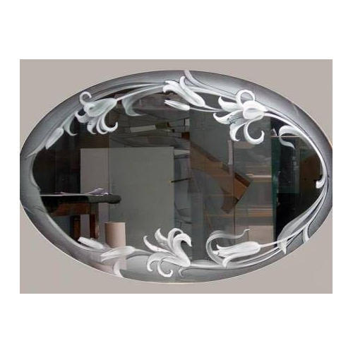 mirror glass etching at rs 400 square feet etched mirror id