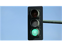 Overhead Traffic Light