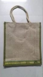 Brown Printed Jute Bag, For To Carry Documents, Size: 10*12