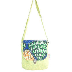 Multi Cotton Printed Sling Bag