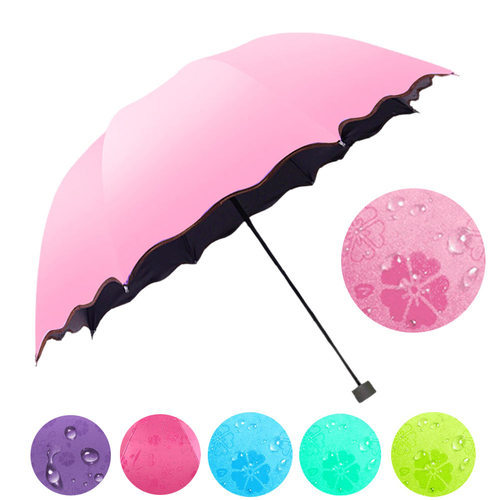 96ef2f66689af Pink Magic Rain Umbrella, Rs 395 /piece, Jiya Traders | ID: 19552573233