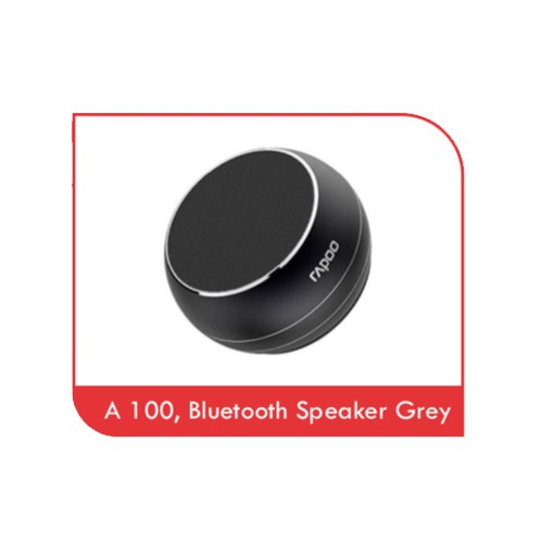 Rapoo Black A 100 Bluetooth Portable Speaker