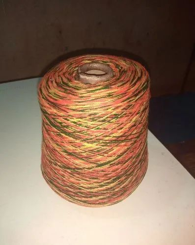 2 ply Dyed Woolen Yarn, Count: 32