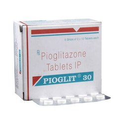 Pioglit 30 mg Tablet