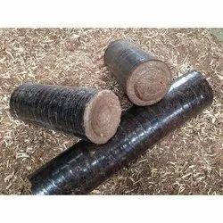Black Biomass Briquette