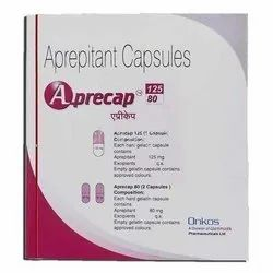Aprepitant Capsules, Packaging Size: 1 X 3 Tablets, 80-125 Mg