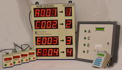 Wired Counter Token Display System