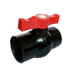 Short Handle PVC Ball Valve