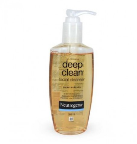 clean Neutrogena cleanser deep facial